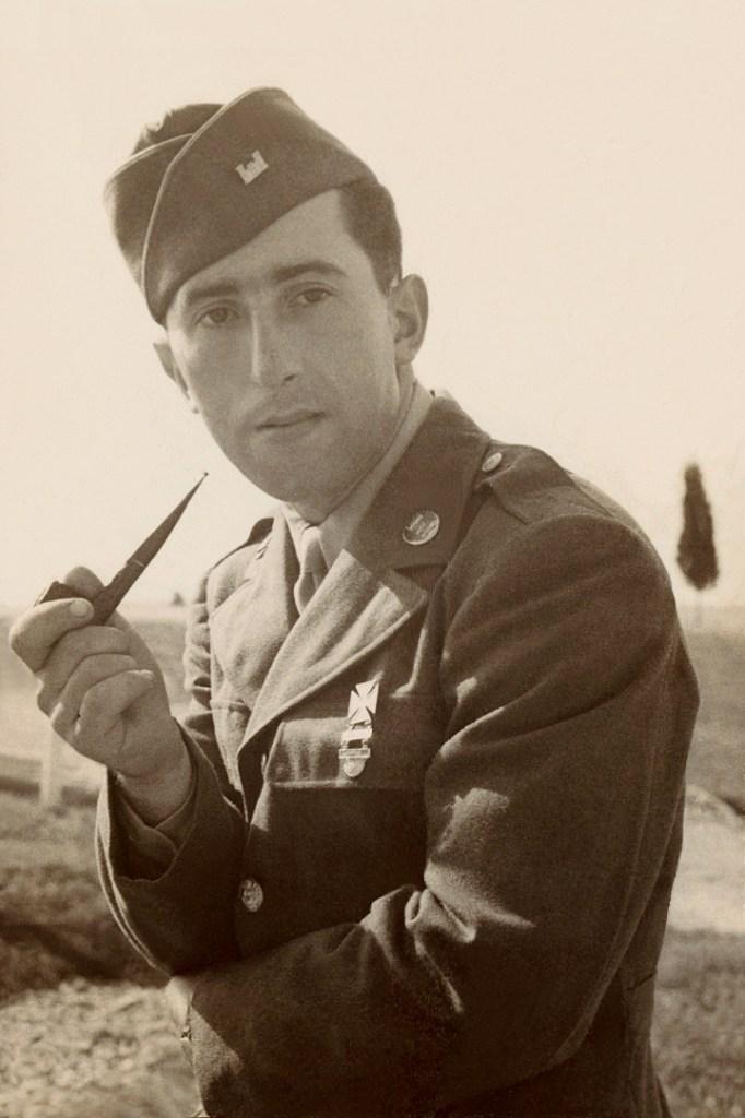 Richborough camp, Erich Silbermann, US army