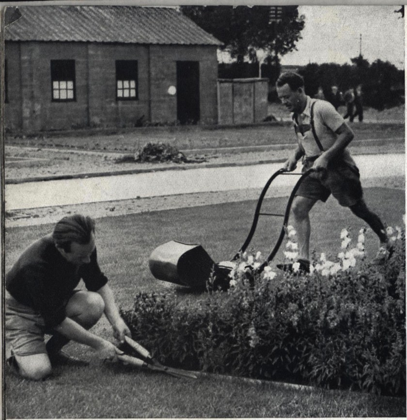 Kitchener camp, Some Victims, 1939 - gardening