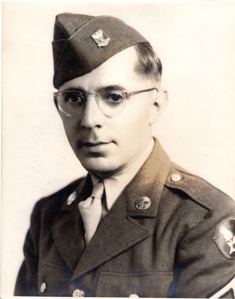 Richborough transit camp, 1944, Emanuel Suessmann, US Army uniform