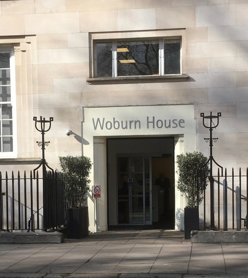 Richborough transit camp for Jewish refugees, Woburn House, London 2018