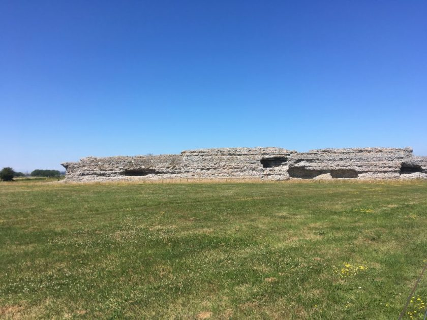 Richborough fort, 2018