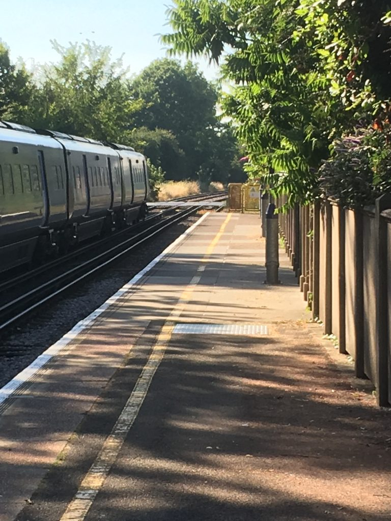 Kitchener camp, Sandwich railway station, 2018