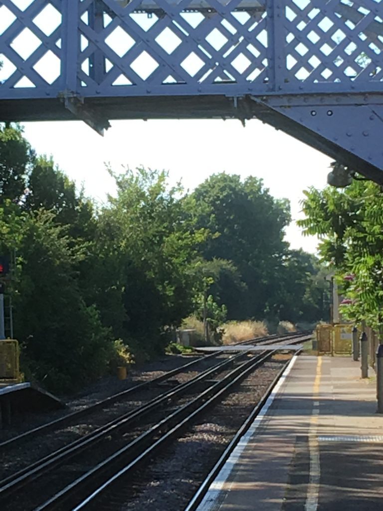 Richborough transit camp, Sandwich railway station, 2018