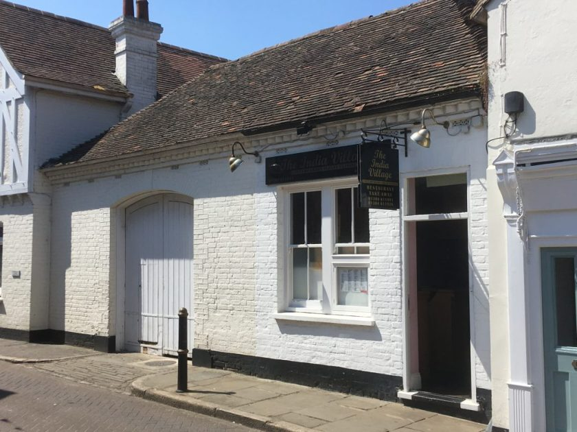 Sandwich - the old fire station, Phineas May diary