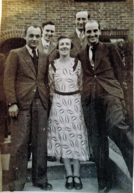 Richborough camp, Sandwich residents, Herbert Mosheim