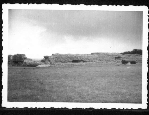 Richborough transit camp, Werner Gembicki, Photo, Richborough fort