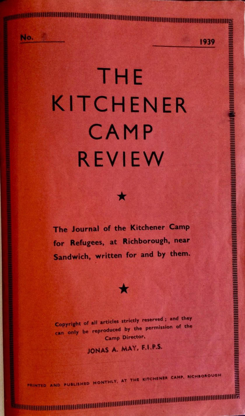 Kitchener Camp Review cover