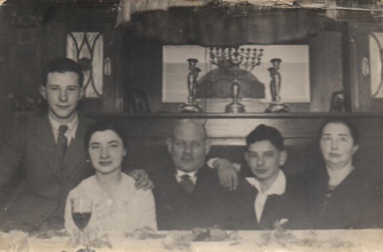 Kitchener camp, Reissner family, Joachim Reissner, Joachim's Barmitzvah, 1936