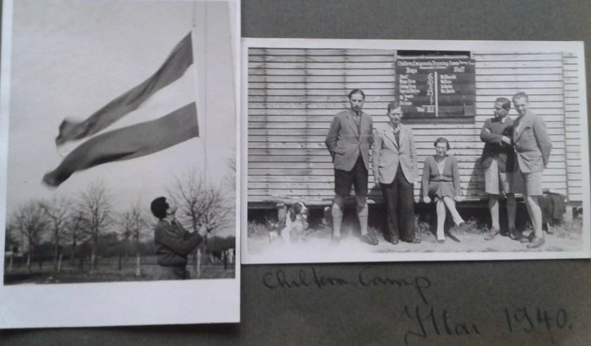 Kitchener camp, Horst Spies, Dovercourt Boys, Chiltern camp, 1940