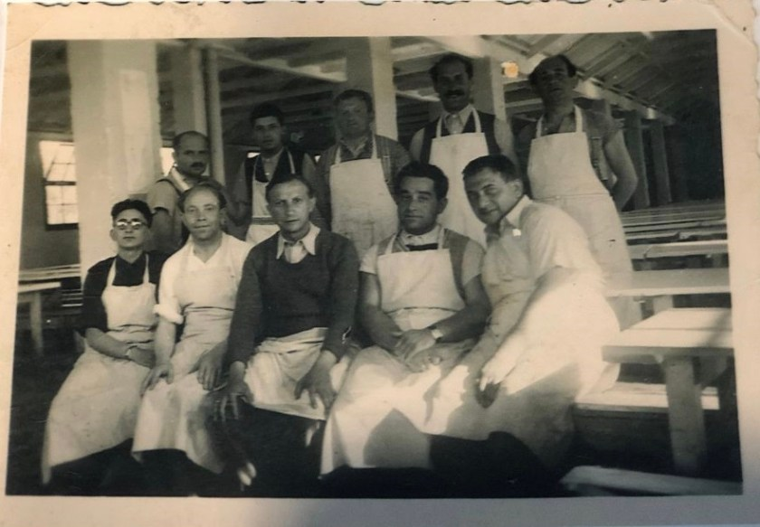 Kitchener camp, Nuchim Kürschner, Kitchen workers