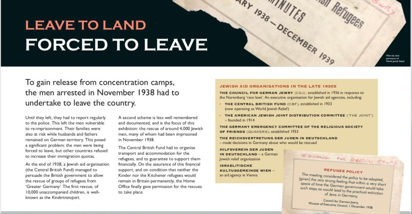Leave to Land - Banner 2 - detail