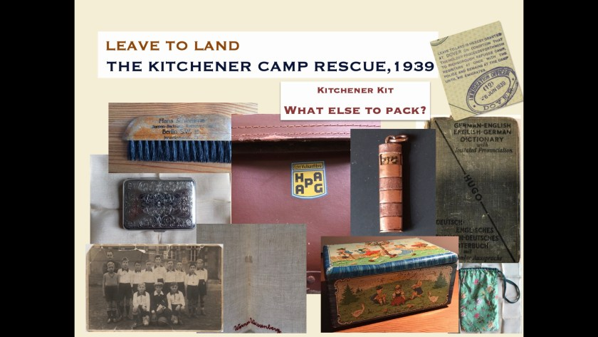 Kitchener camp kit - digital slides from the Leave to Land exhibition, 2019, page 4
