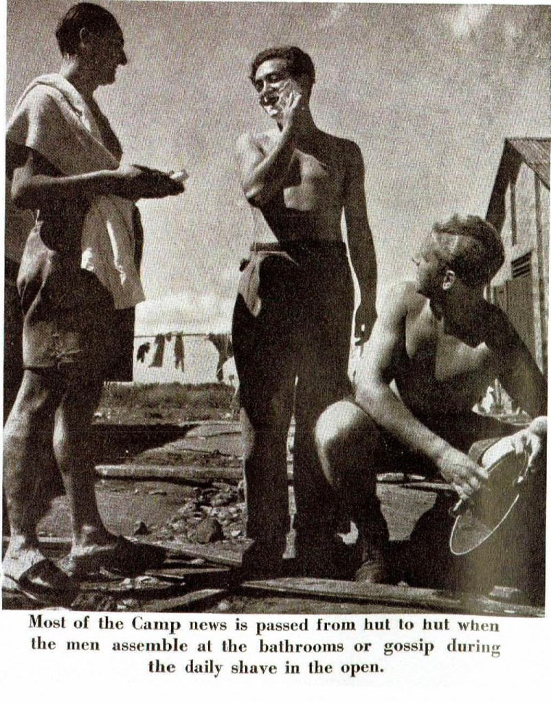 Kitchener camp, Oscar Reininger, Image from 'Some Victims of the Nazi Terror', Magazine 1939