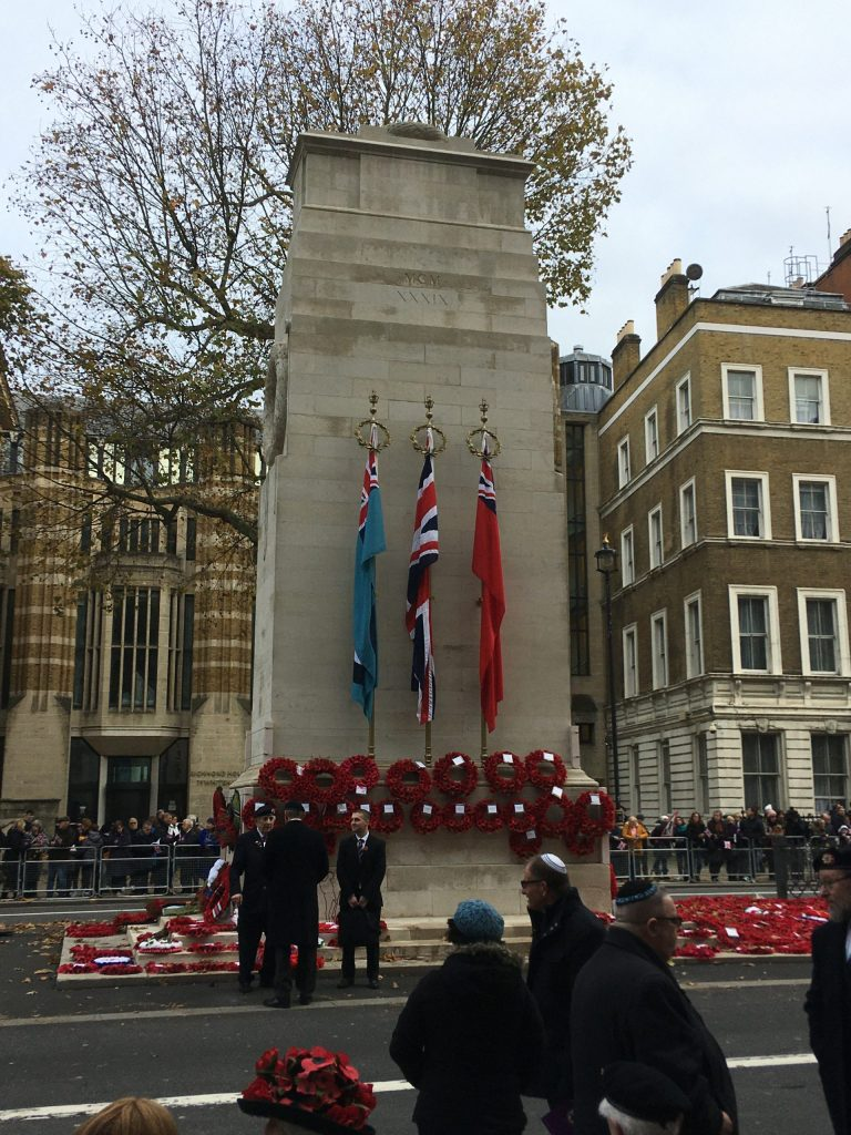 Cenotaph, Whitehall, London, AJEX Ceremony, 17 November 2019
