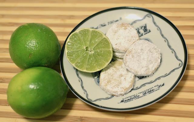 lime meltaway cookies