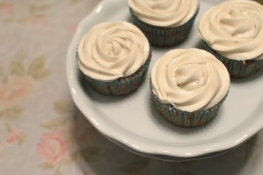 earl grey tea cupcakes London Fog