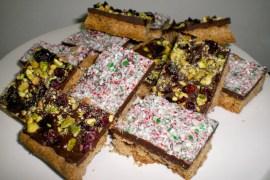 gluten-free shortbread bars