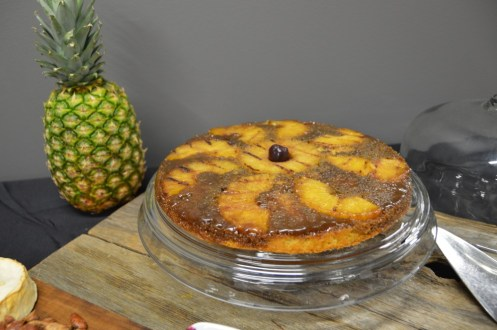 Weber Grill Academy Grilled Pineapple Upside-Down Cake