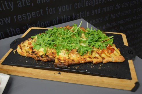 Weber Grill Academy pizza appetizer