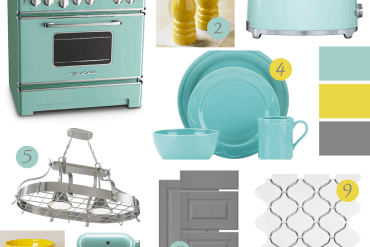 Big Chill turquoise style board