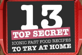 13 Top Secret Iconic Fast Food Recipes to Try at Home