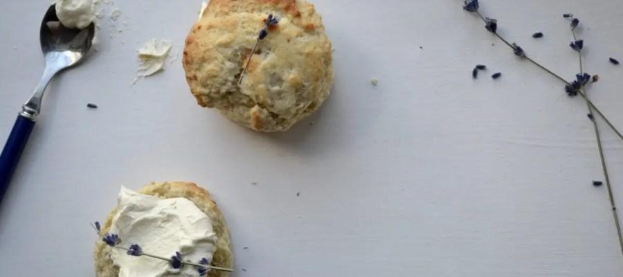 Lavender Buttermilk Scones