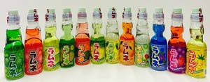 PowerMedley Ramune soda gift set