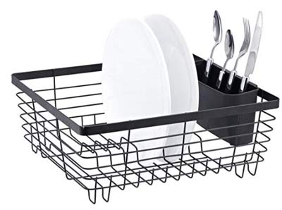 how to clean dish drying rack