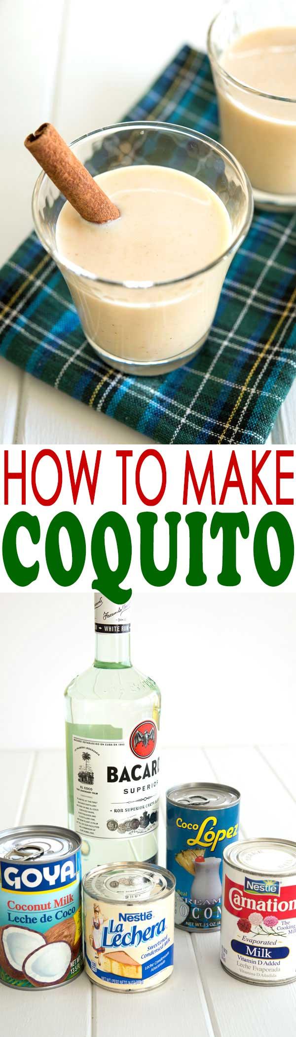 Coquito Recipe (how to make coquito)  Kitchen Gidget