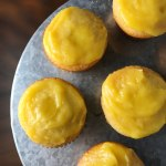 Lemon Curd Filled Lemon Cupcakes
