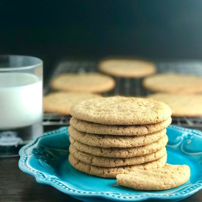 Dairy-Free Almond Nut Butter Cookies