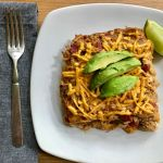 Dairy-Free Gluten-Free King Ranch Chicken Casserole