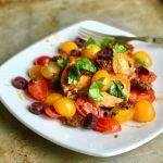 Jamie Oliver-Inspired Tomato Chorizo Salmon