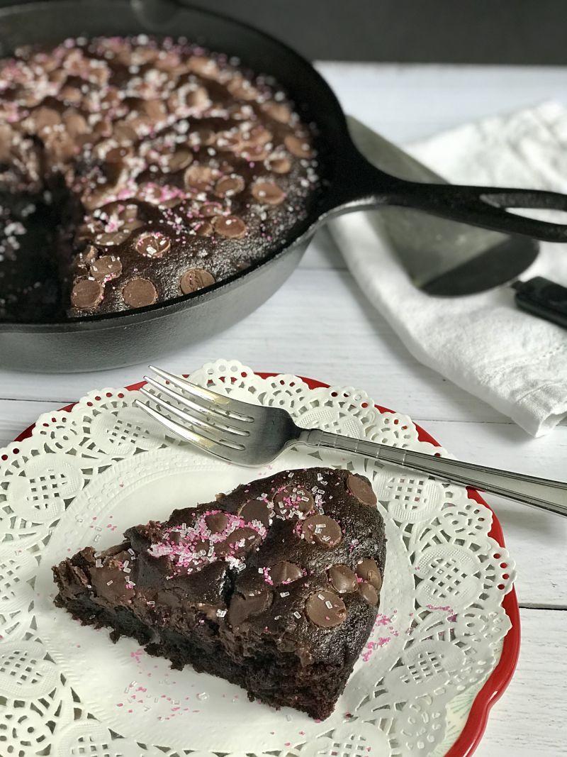 Vegan Orange Mocha Chocolate Cake
