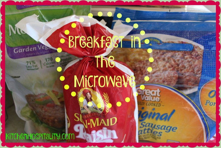 Microwave Breakfast Meals