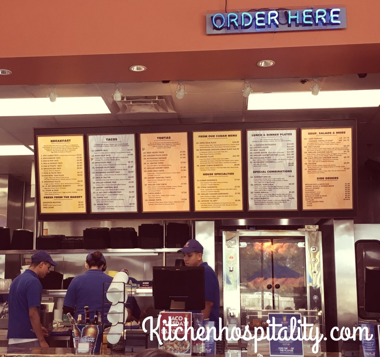 Houston, Texas Cuban restaurants