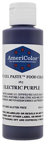 Americolor Soft Gel Paste Electric Food Coloring 45 oz - Electric Purple