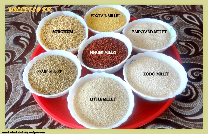 Millets-A detailed write up on millets and recipes