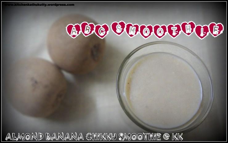 almondchikkubananasmoothie