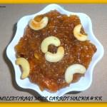 ragi milk carrot halwa