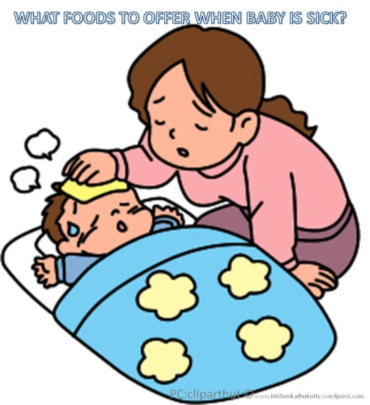 diet for a sick baby