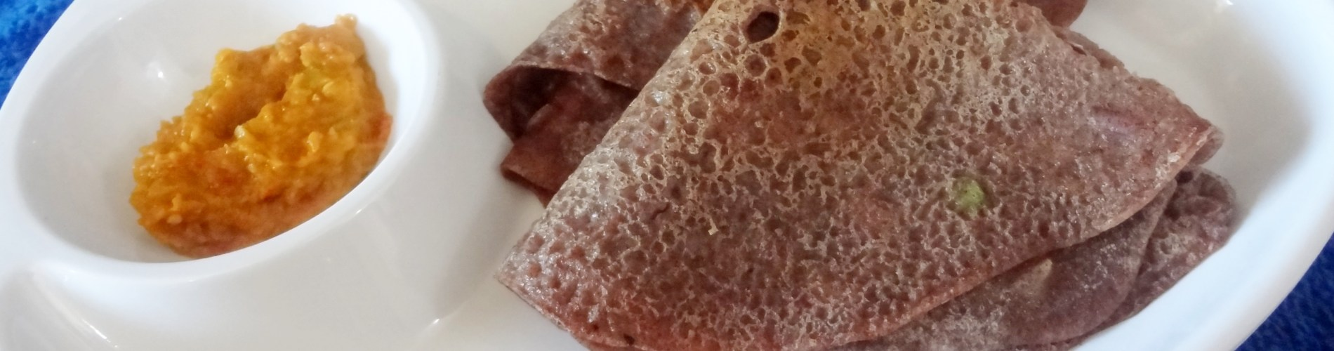 Insatnt ragi wheat dosa
