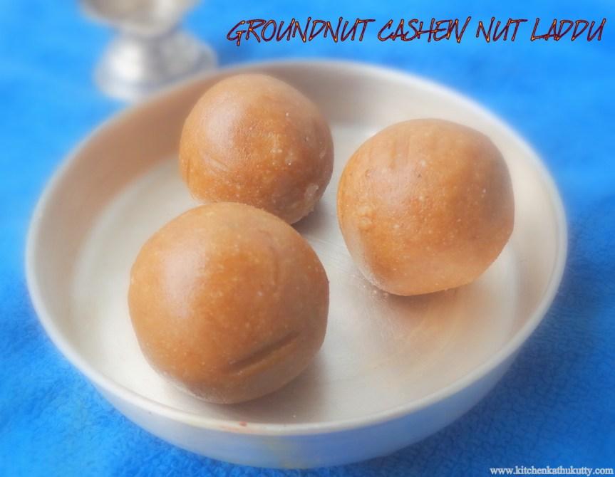 groundnuts laddu