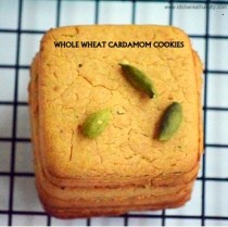 whole wheat cardamom cookies