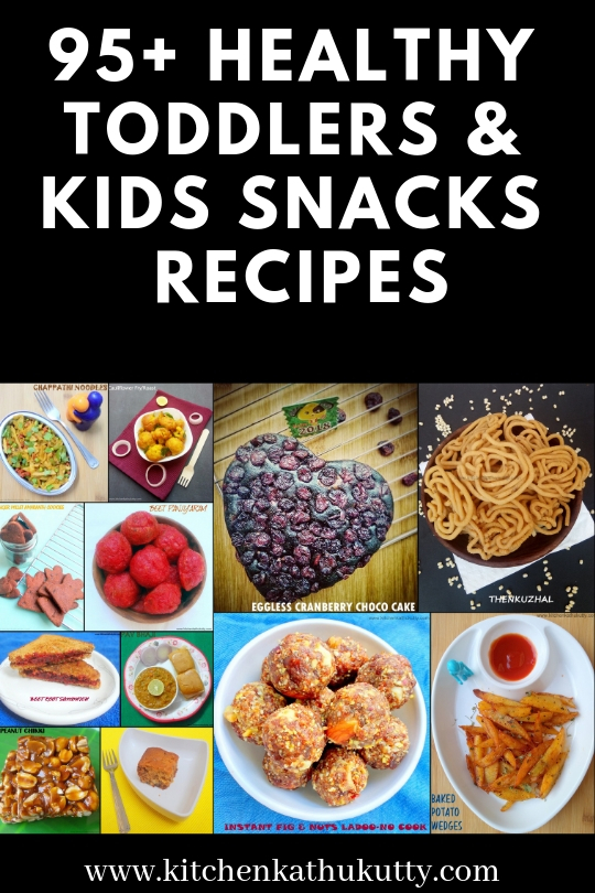 Junk Free Snack Box Recipes for kids(School/Day care)