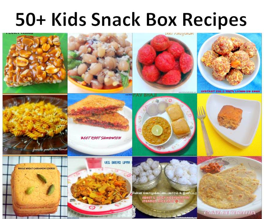 Snack Box Recipes for kids