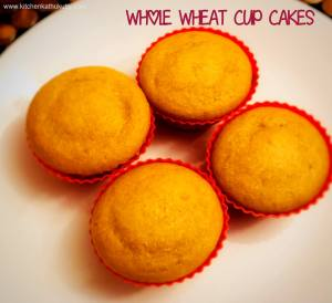 whole wheat cup cakes