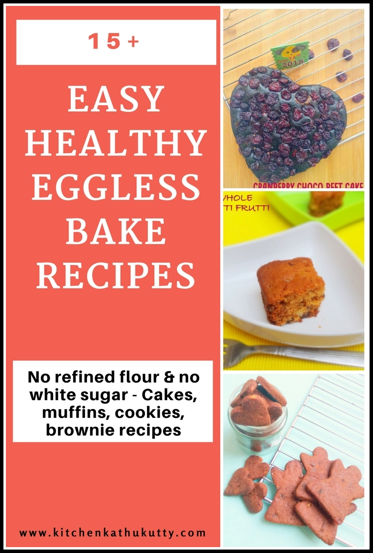 Healthy Bakes for Toddlers & Kids-No Refined Flour & Sugar
