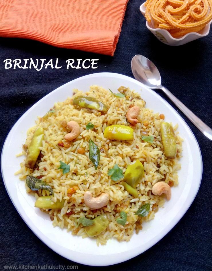 Vaangi Bath|Brinjal Rice