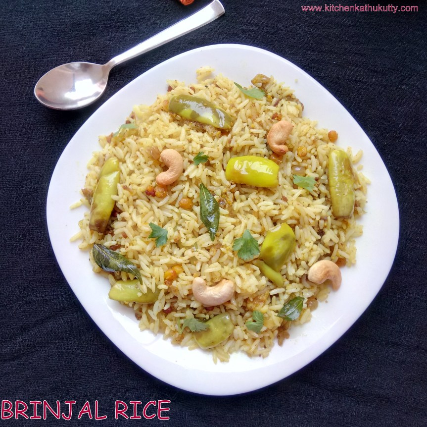 Vaangi Baath|Brinjal Rice